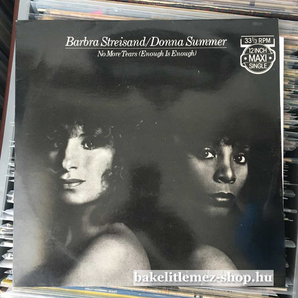 Barbra Streisand - Donna Summer - No More Tears (Enough Is Enough)