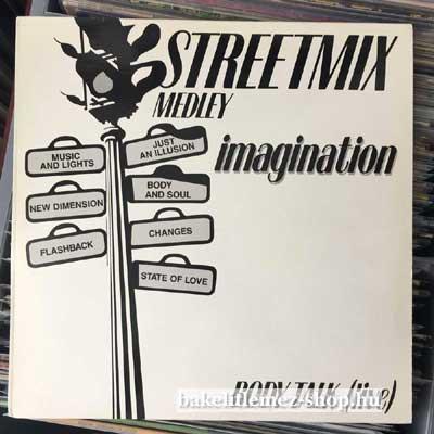 """Imagination - Streetmix  (12"""", Maxi) (vinyl) bakelit lemez"""
