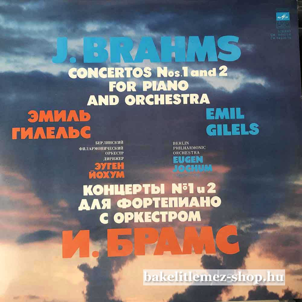 Johannes Brahms - Concertos Nos. 1 And 2 For Piano And Orchestra
