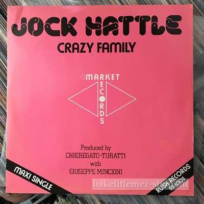 """Jock Hattle - Crazy Family  (12"""", Maxi) (vinyl) bakelit lemez"""