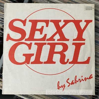 """Sabrina - Sexy Girl  (12"""") (vinyl) bakelit lemez"""